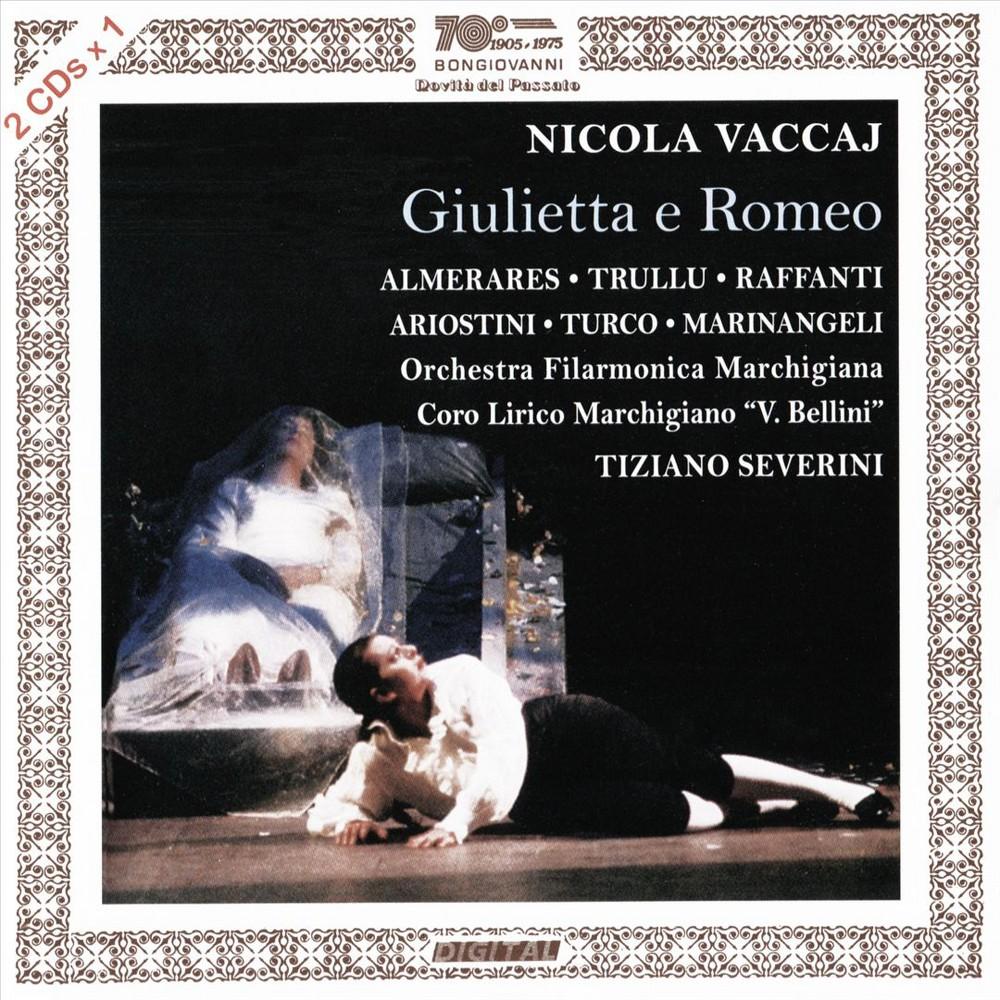 Paula Almerares - Vaccaj:Giulietta E Romeo (CD)