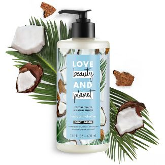 Love Beauty & Planet Coconut Water and Mimosa Flower Hand and Body Lotion - 13.5 fl oz