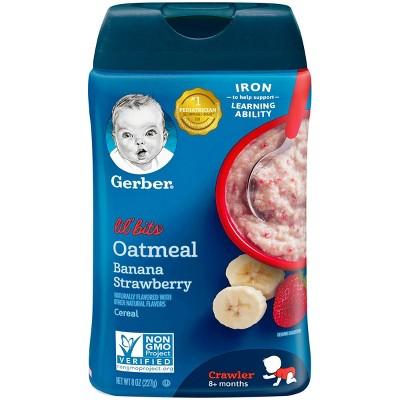 Baby Food: Gerber Lil' Bits Cereal