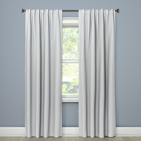 "Blackout Curtain Panel Gray 84"" - Threshold™ - image 1 of 3"