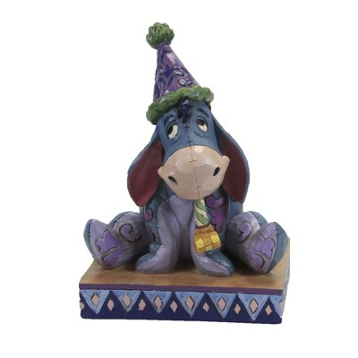 "Jim Shore 5.75"" Birthday Blues Eeyore Pooh Party  -  Decorative Figurines"