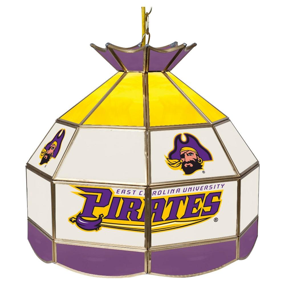 NCAA East Carolina Pirates Glass Tiffany Lamp - 16