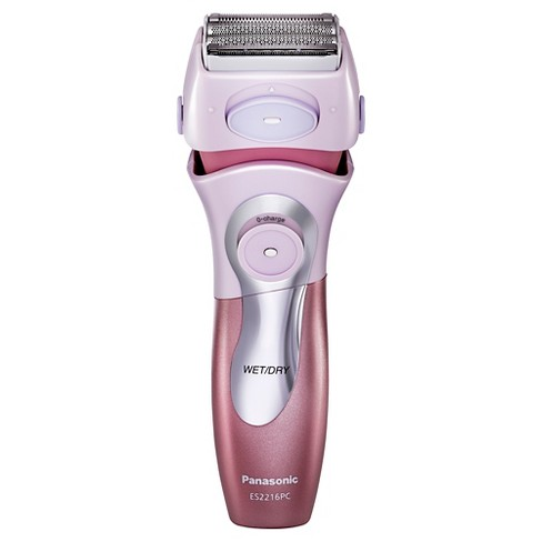Panasonic Close Curves 4-Blade Wet & Dry Women's Rechargeable Electric Shaver - ES2216PC - image 1 of 7