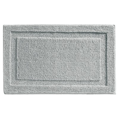 Spa Solid Bath Rug Gray - iDESIGN