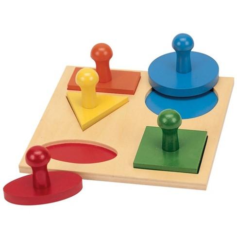 Guidecraft Geometric Puzzle Board - image 1 of 4
