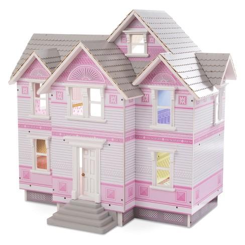 Melissa Doug Victorian Dollhouse Target