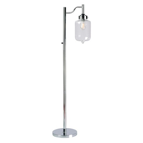 Kenroy Casey Floor Lamp - Chrome - image 1 of 1