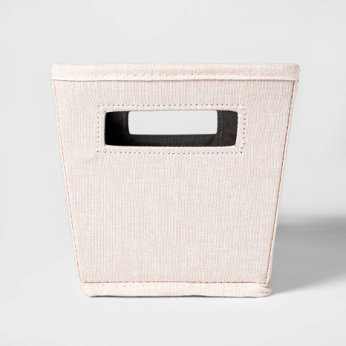 Small Tapered Bin Pink - Threshold™ - image 1 of 3