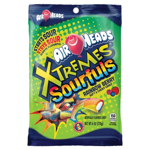 Airheads Xtremes Sourfuls Rainbow Berry Chewy Candy - 6oz - image 1 of 1