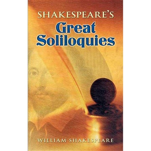 Shakespeare's Great Soliloquies - by  William Shakespeare (Paperback) - image 1 of 1