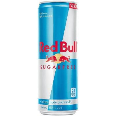 Red Bull Sugar Free Energy Drink - 12 fl oz Can