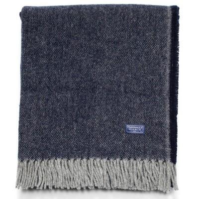 "50""x60"" Ashby Twill Throw Blanket - Faribault Woolen Mill"
