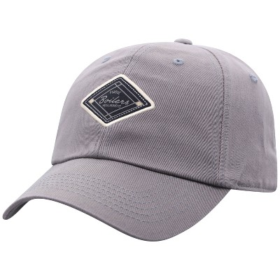 NCAA Purdue Boilermakers Men's Gray Washed Relaxed Fit Hat