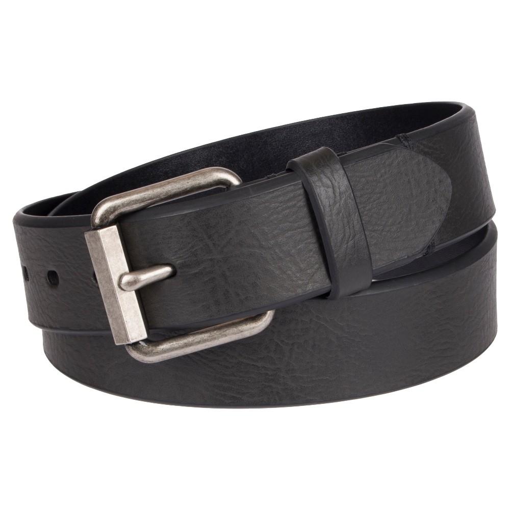 Image of DENIZEN from Levi's Men's Roller Buckle Casual Jean Belt - Black M, Men's, Size: Medium