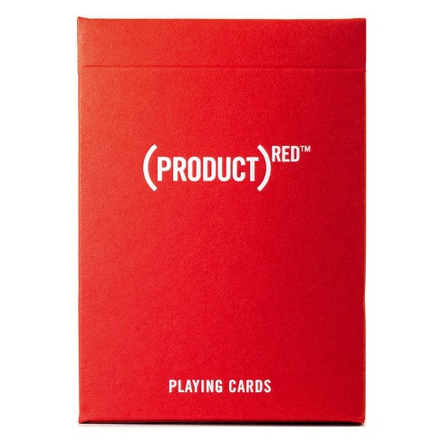 Product Red Playing Cards - image 1 of 5