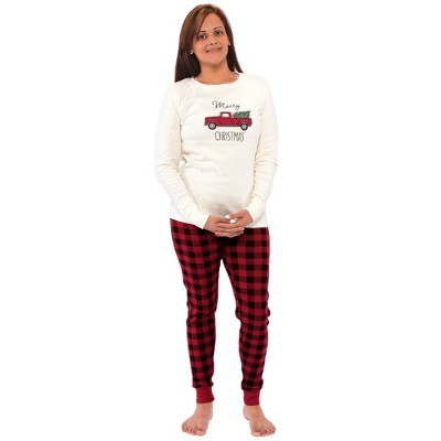 Touched by Nature Womens Unisex Holiday Pajamas, Christmas Tree