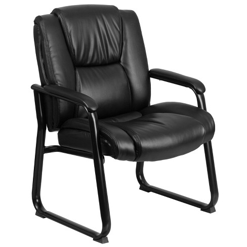 Tremendous Hercules Series 500 Lb Capacity Big Tall Executive Side Chair Black Leather Flash Furniture Interior Design Ideas Inesswwsoteloinfo