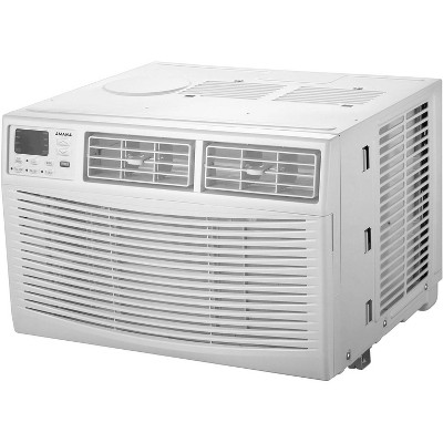 Amana 10,000 BTU 115V Window-Mounted Air Conditioner AMAP101BW with Remote Control