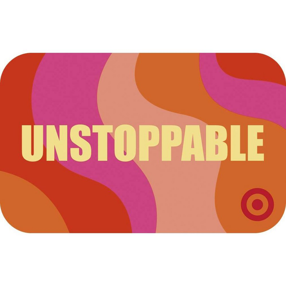 Unstoppable Target Giftcard Unstoppable Target Giftcard