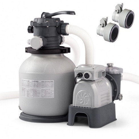 Intex Replacement Hose Adapter B Pair Sand Filter Above Ground Pool Pump Target