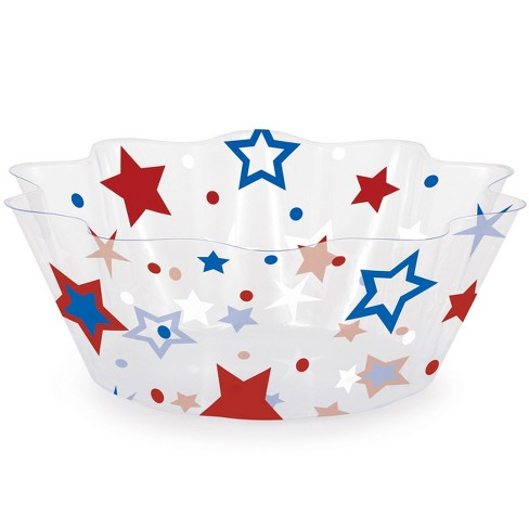 Patriotic Stars Fluted Bowl - image 1 of 1