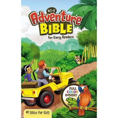 Adventure Bible for Early Readers-NIRV - by  Zondervan (Hardcover)