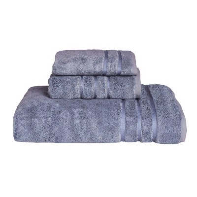 3pc Rayon from Bamboo Towel Set Blue - Cariloha