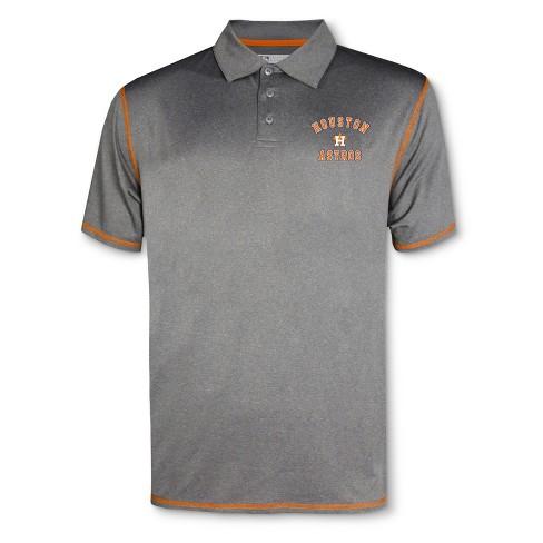 best website 67e96 46723 MLB Houston Astros Men's Your Team Gray Polo Shirt