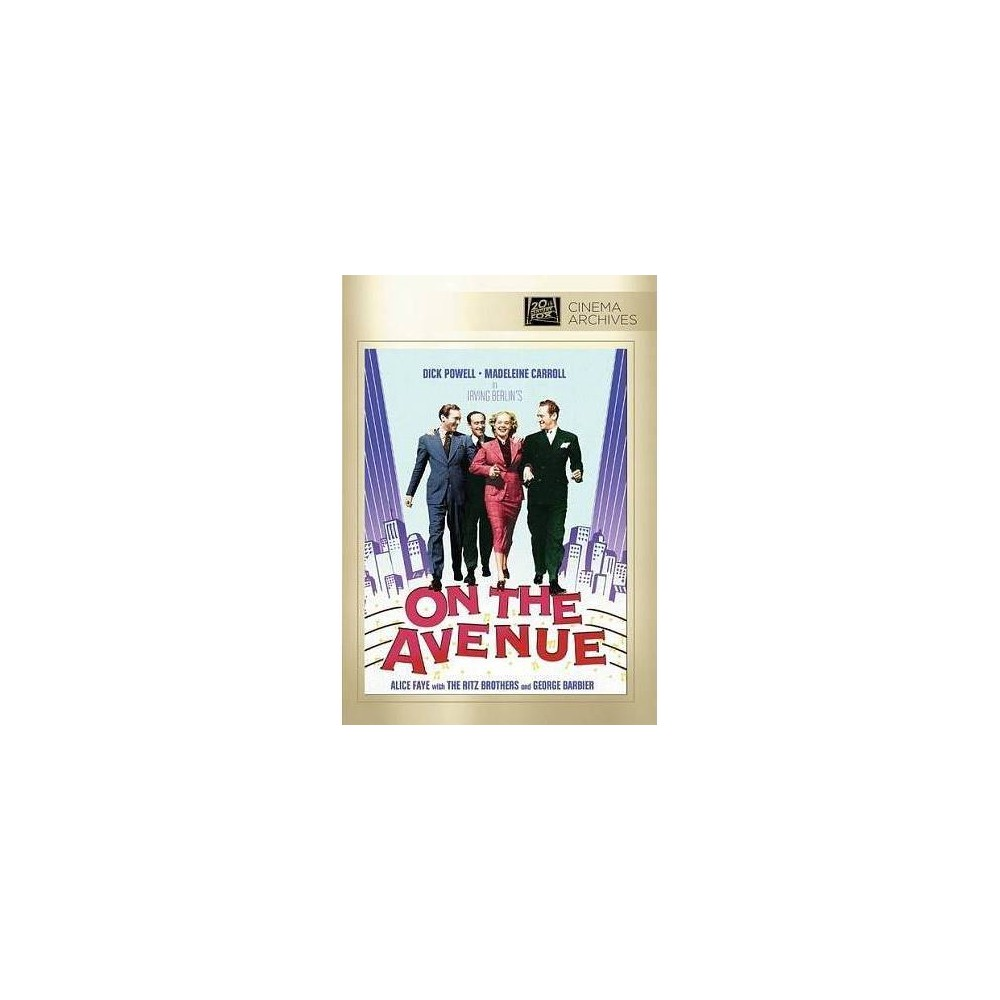 On The Avenue (Dvd), Movies