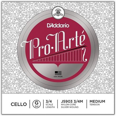 D'Addario Pro-Arte Series Cello G String - image 1 of 2