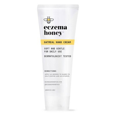 Eczema Honey Oatmeal Hand Cream - 4oz