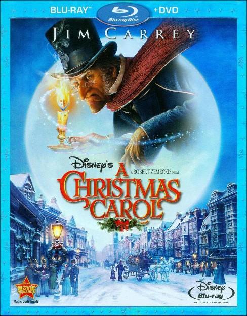 Disneys A Christmas Carol 2 Discs Blu Raydvd Target