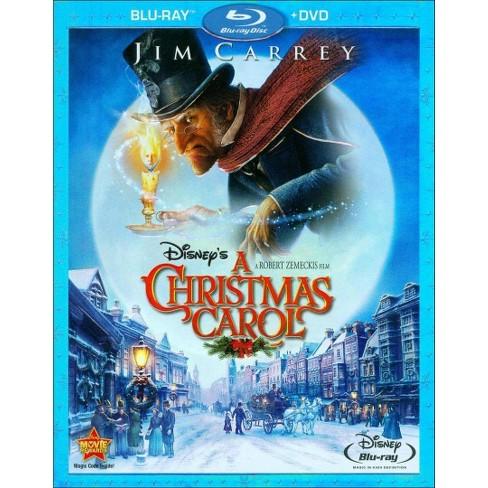 Disney Christmas Carol.Disney S A Christmas Carol 2 Discs Blu Ray Dvd
