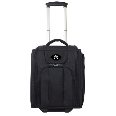 MLB New York Yankees Deluxe Wheeled Laptop Briefcase Overnighter