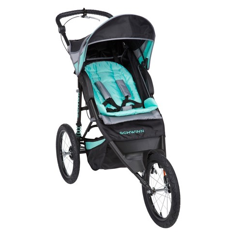 Schwinn Arrow Fixed Wheel Jogger Stroller - Nightshade - image 1 of 12