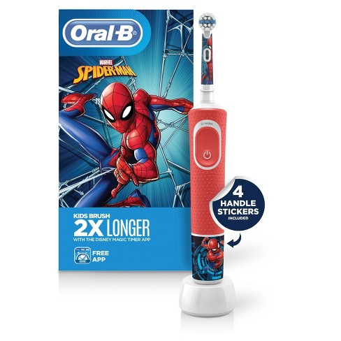 Oral-B Marvel's Spider-Man Electric Toothbrush for 3+ Kids - image 1 of 3