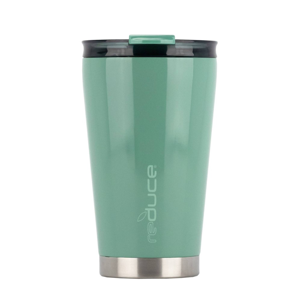 Image of Reduce 16oz Stainless Steel Hot 1 Tumbler Green