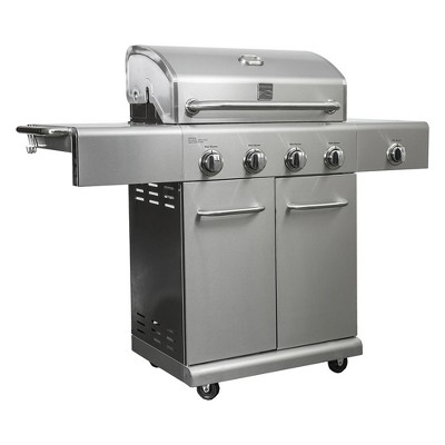 Kenmore 4 Burner Gas Grill with Side Burner - PG40405S0