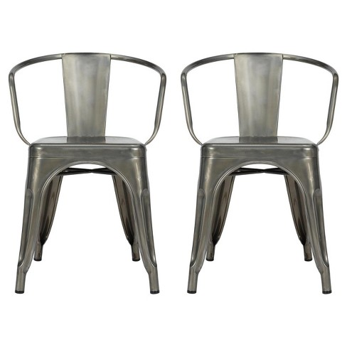 Elise Metal Dining Chair (Set Of 2) - Dorel Home Products - image 1 of 4