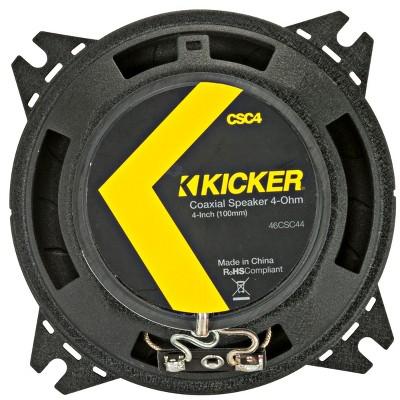 "Kicker 46CSC44 CS-Series 4"" 2-Way Coaxial Speakers"