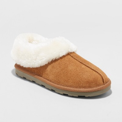48f7e9f2958 Women s Dyanna Moccasin Slipper – Gilligan   O Malley™ Chestnut 8 ...