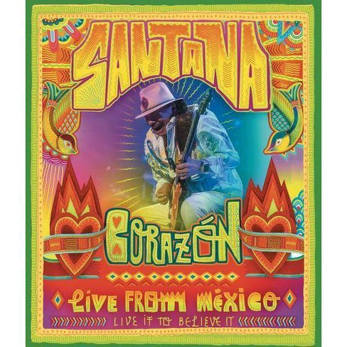 Santana: Corazon Live from Mexico Live To Believe It (DVD) - image 1 of 1