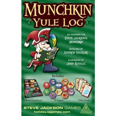 Munchkin Yule Log Board Game
