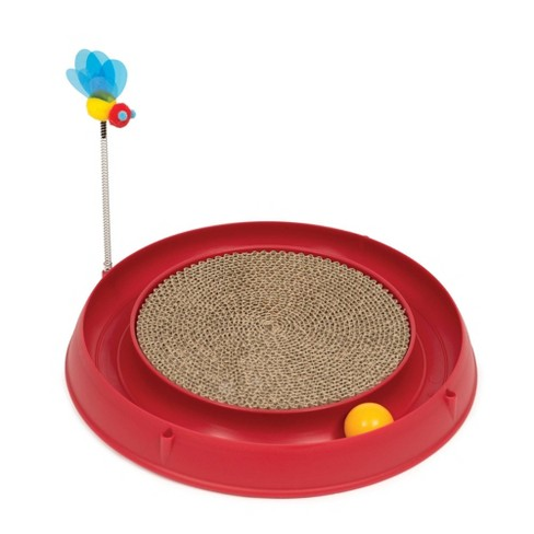 Catit Play Circuit Ball Cat Toy with Scratch Pad - image 1 of 2