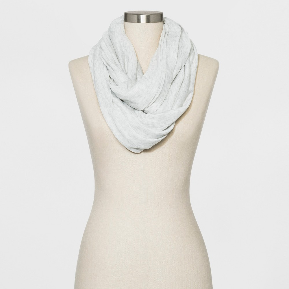 Image of Women's Collection XIIX Loop Scarf - Heather Gray One Size, Women's, Grey Gray