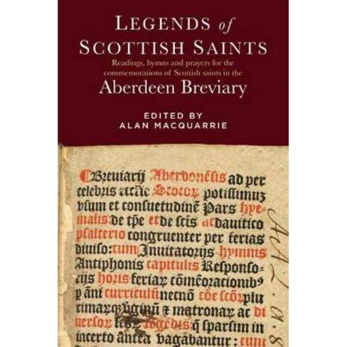 Legends of Scottish Saints - (Hardcover) - image 1 of 1