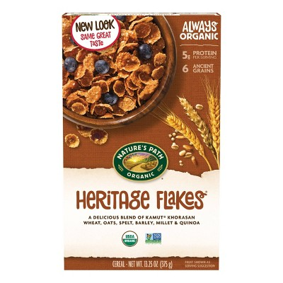 Nature's Path Heritage Flakes Breakfast Cereal - 13.25oz