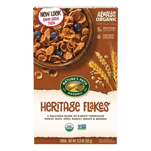 Nature's Path Heritage Flakes Breakfast Cereal - 13.25oz - image 1 of 4