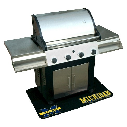 Mr. Bar-B-Q - NCAA - Protective Grill Mat, University of Michigan Wolverines - image 1 of 1