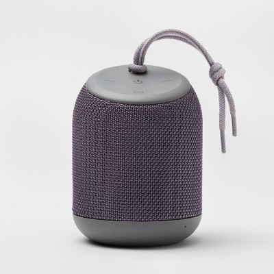 heyday™ Cylinder Portable Bluetooth Speaker with Strap - Gray